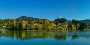 Prehrada Horní Becva na podzim