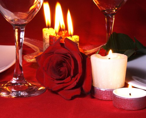 Romantischer Aufenhalt