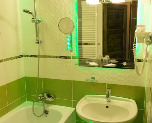 Koupelna v pokoji Relax