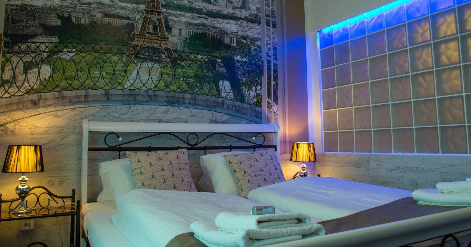 Pokoj Paříž hotel Mesit